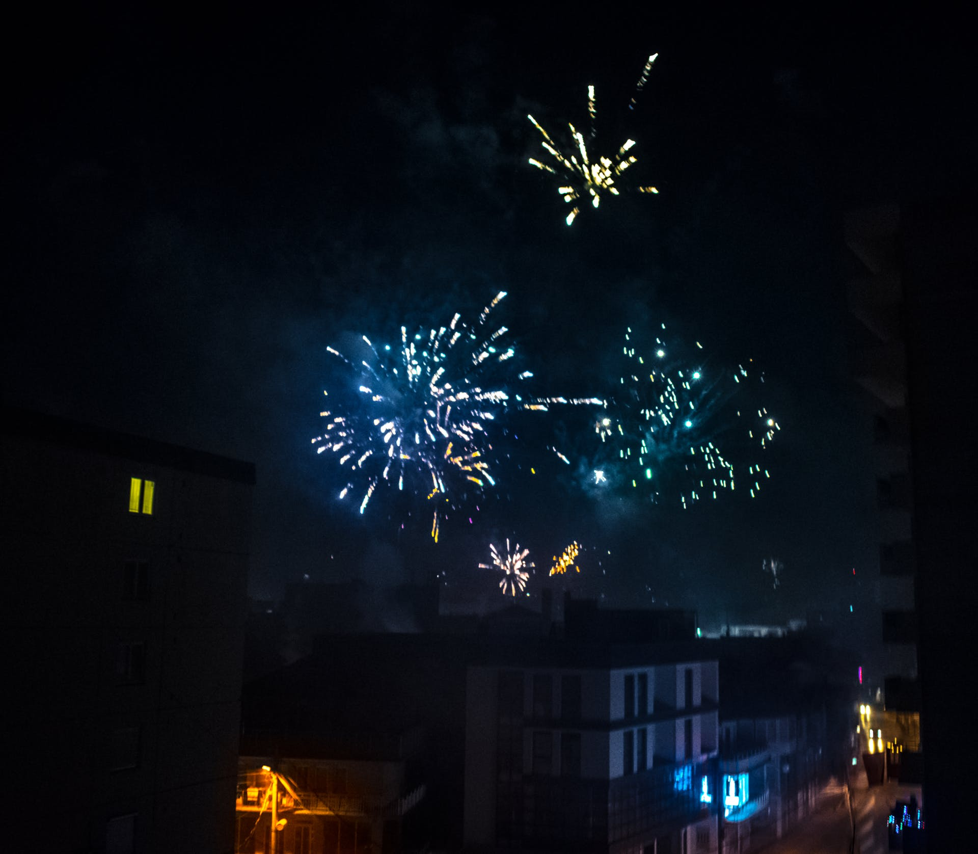 new year hd wallpaper firework