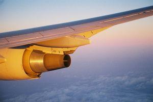 aircraft aircraft wing sky airplane flight