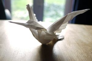 art craft hummingbird origami