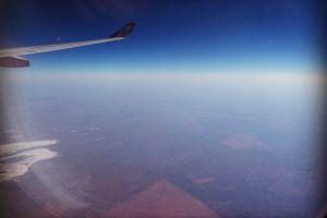 australia aerial view plane
