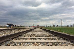 auswitz labourcamp railway