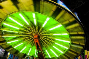 background fair wipeout enjoyment people fun rail ride vacation theme