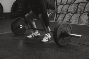 barbell crossfit weights fitness weightlifting