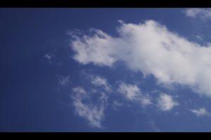blue sky sky low angle shot time-lapse clouds