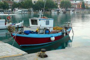 boat coast dock sea