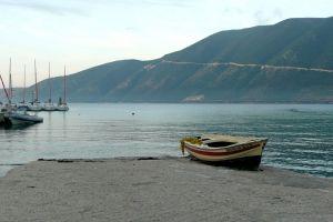 boat shore sea coast
