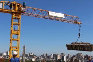buildings construction city machine crane
