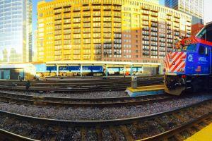 buildings panorama station iphone 6 plus train railway #mobilechallenge chicago