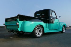 car 5.7 litre pickup custom car chevrolet