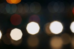 cars blurred lights blurry