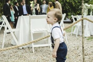 child wedding party baby boy garden outdoor wedding party