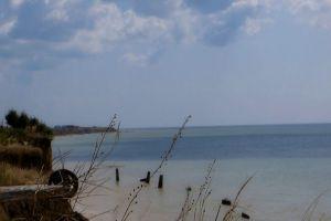 coast windy atmosphere water ocean sea horizon