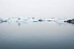 cold sea ice water ocean melting icebergs frozen