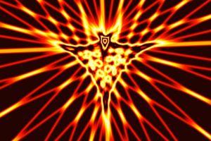 color spiderweb pattern animation light dark