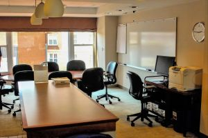 conference discussion room office study