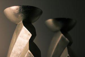 dark blur sculpture indoors art reflection conceptual