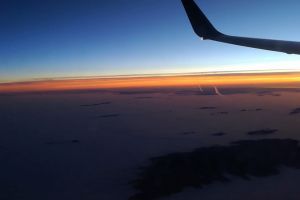 daylight sky heaven airplane flying sunset clouds airplane wing
