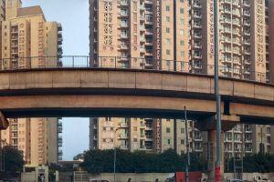 delhi road bridge architecture apartment building buildings architectural design flyover roadside apartment