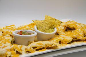 diner cheese nachos cheddar food fastfood