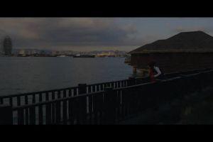 dock watercraft romantic bay sea couple ocean sky yacht city