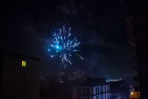 firework new year hd wallpaper