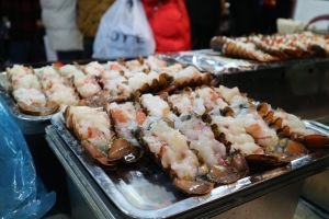 food seoul shrimp asian food street food