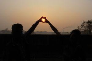 friendship love friends sunset