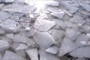 frozen cold ice winter water