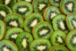 fruit sliced juicy slices green fresh kiwi healthy close-up