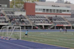 game soccer athletes goal stadium field people sports