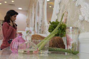 girl interior design glass mirror person woman