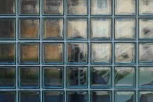glass blocks architecture geometry modern architecture square