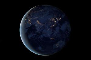 globe earth orbit space planet