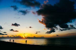 golden hour nature nature photography horizon beach people sea seashore seascape water