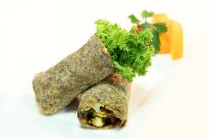 gourmet food meat arabic cuisine chicken eaterie minimal green brown bread buffet