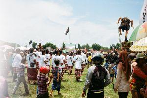grass people crowd daylight wear festival celebration
