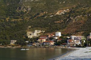 greece vasiliki beach town