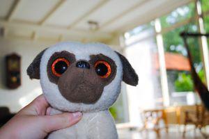hand funny animal sad kids stuffed toy