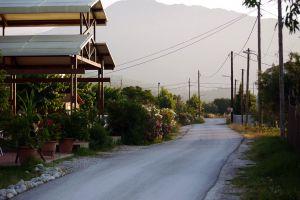 haze greece road vasiliki hill