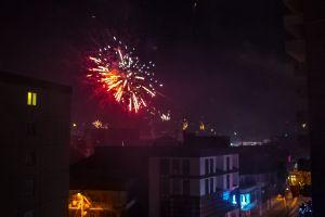 hd wallpaper firework new year