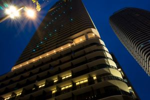 high rise night photography design night time photographer architectural design architect miami building night sky