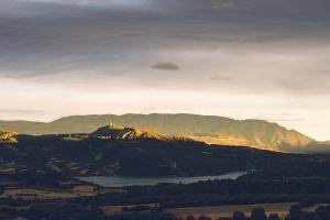 high scenic landscape nature sky daylight mountains