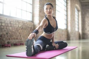 indoors active woman beauty beautiful yoga fit sexy fitness female