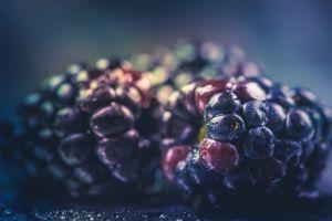 juicy healthy delicious tasty close-up fruits blackberries berries fresh