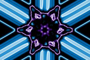 kaleidoscope effect light