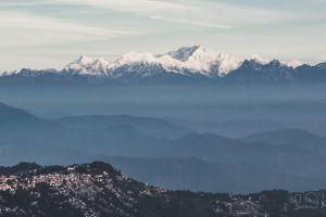 kanchanjunga himalaya glacier mountain