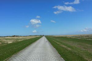 landscape clouds way