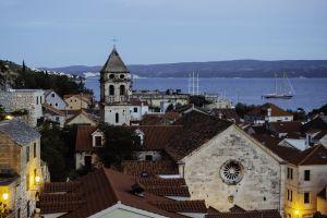 landscape croatia architecture sea city