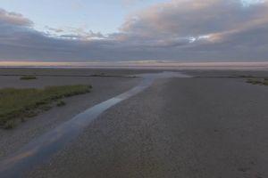 landscape drone footage nature sand dunes