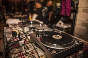 live performance live show night party dj mixer detail vintage live music music